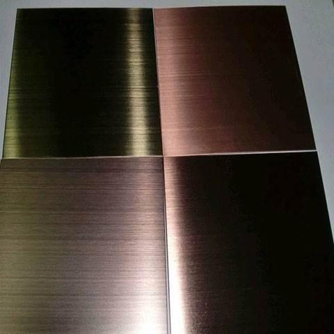 仿古铜拉丝铝单板