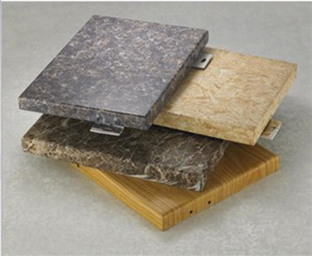 仿石纹铝单板