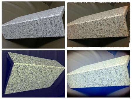 造型石纹铝单板