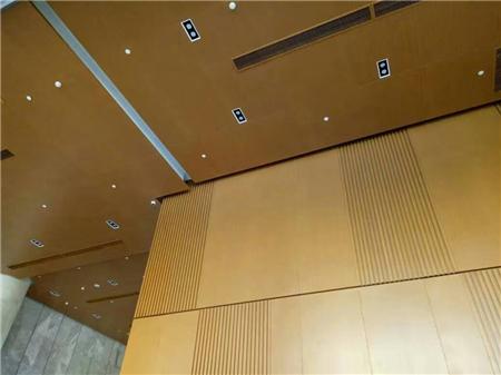 木纹铝单板天花