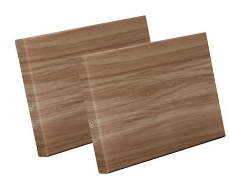 包柱木纹铝单板